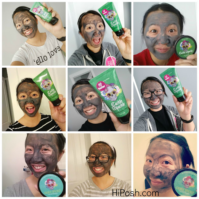 Posh By Simone Review Cackle Spackle Detoxing Charcoal Face Mask