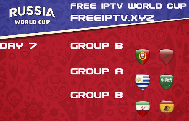 World Cup 2018 iptv free m3u list 20/06/2018
