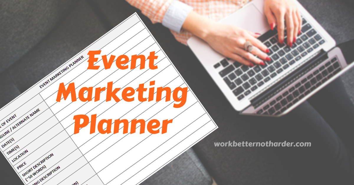 marketing event planner