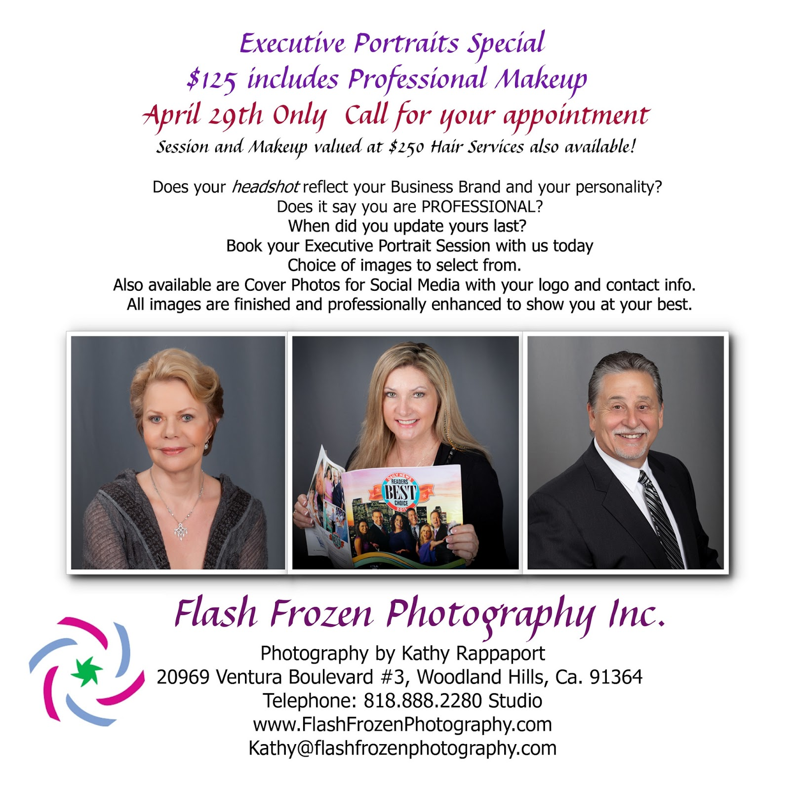 Flash Frozen Photography- Woodland Hills, Los Angeles