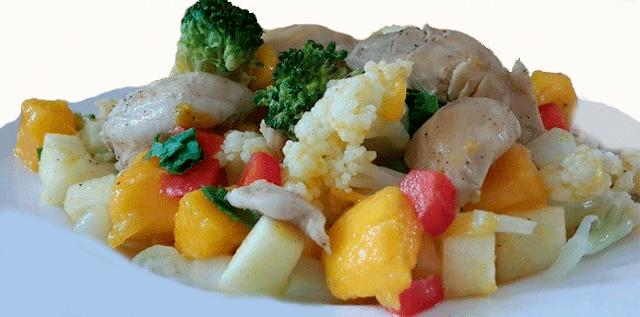 Recetas de ensaladas, recetas de pollo