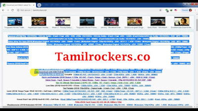 Tamilrockers.co- 2020 Bollywood Tamil Movies Tamilrockers co