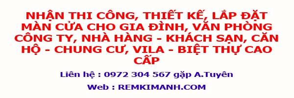 Nội Thất Kim Anh chuyên thi công lắp đặt màn cửa cho gia đình, công ty, nhà hàng - khách sạn, căn hộ - chung cư, vila - biệt thự cao cấp