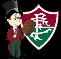 Mascote e escudo do Fluminense