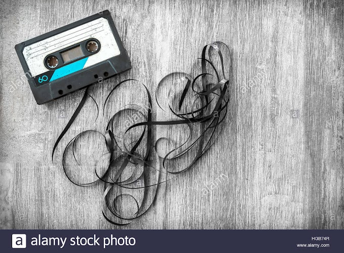 audio tape images musicassette vintage background label