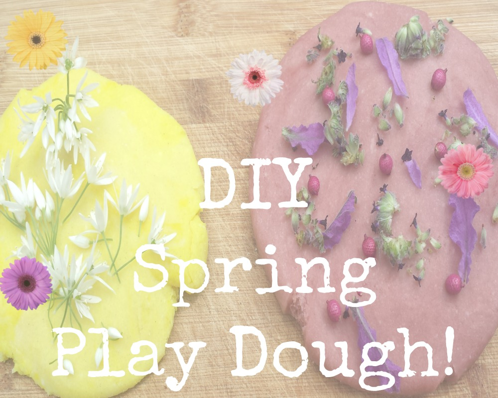 As you might have heard me mention, we recently discovered a fantastic recipe for homemade play dough! We've been doing a lot of Spring themed crafts at home, so I thought why not make our play dough spring themed too!  DIY SPRING THEMED PLAY DOUGH