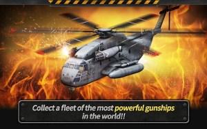 GUNSHIP BATTLE Helicopter 3D MOD v2.3.00 APK Unlimited Gold Coins