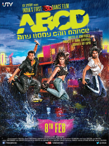 Poster of ABCD Any Body Can Dance 2013 Hindi 720p HDRip Full Movie Download