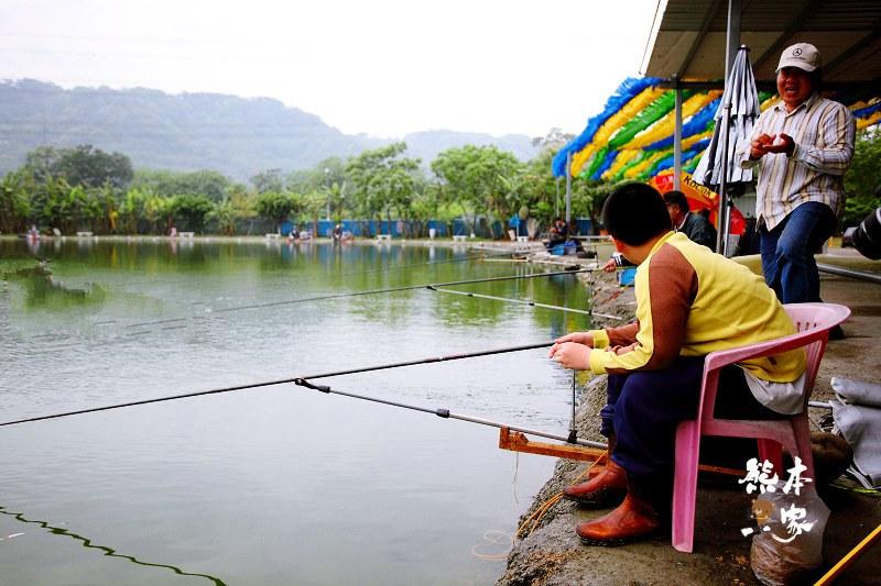 石園農場|釣魚場|兒童戲水池