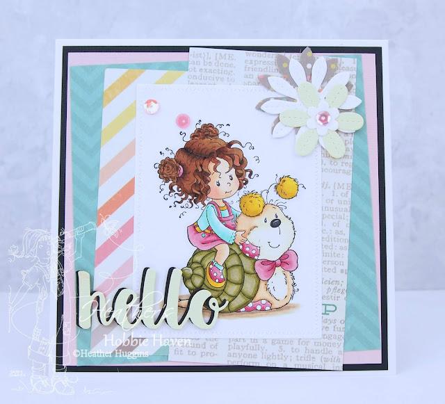 Heather's Hobbie Haven - Cuddly Ride Card Kit