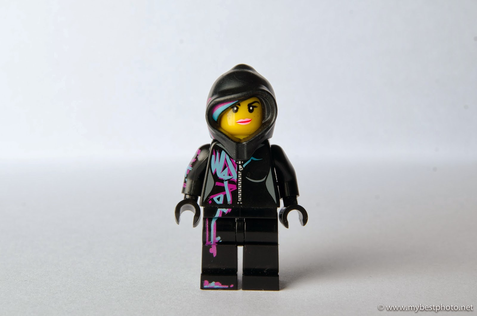 Lego Minifigure Series 12 Lego Movie Wildstyle Portrait - Wallpaper