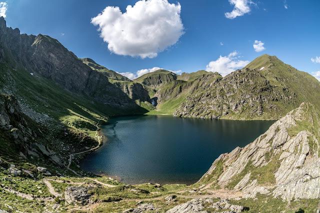 Panorama Seefeldspitze Südtirol mtb