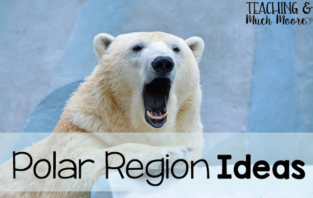polar region ideas, printables and art ideas
