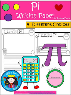 https://www.teacherspayteachers.com/Product/A-Pi-Writing-Paper-3021771