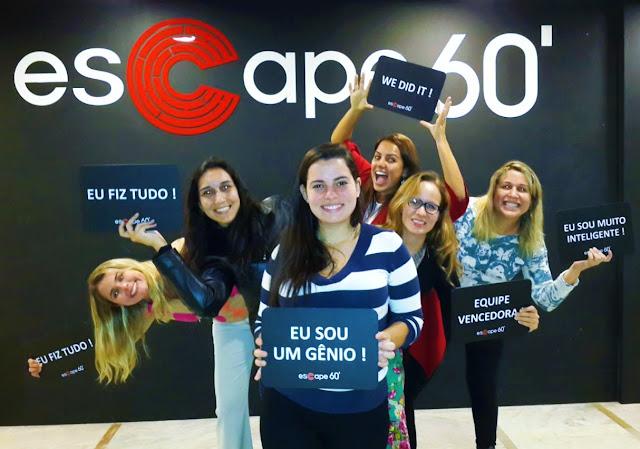 Divas sinistras, escaparam da Sala SOS Salvem nossas Almas faltando pouquíssimo - Escape60