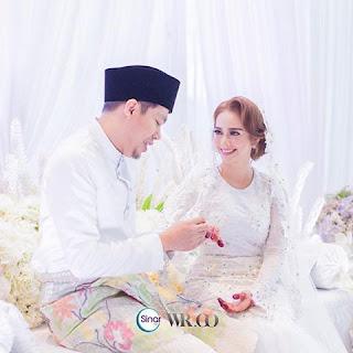 Jep Sepahtu dan Sari Yanti Sah Bergelar Suami Isteri Dengan Sekali Lafaz