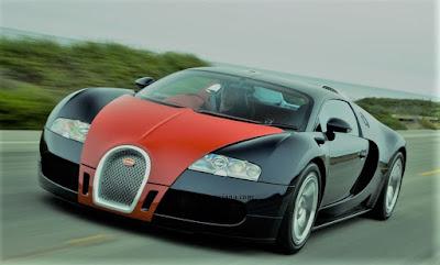 Bugatti Veyron mobil termahal