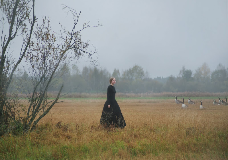 Anna Ådén goose girl