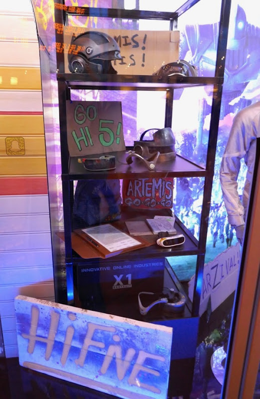 Ready Player One movie props