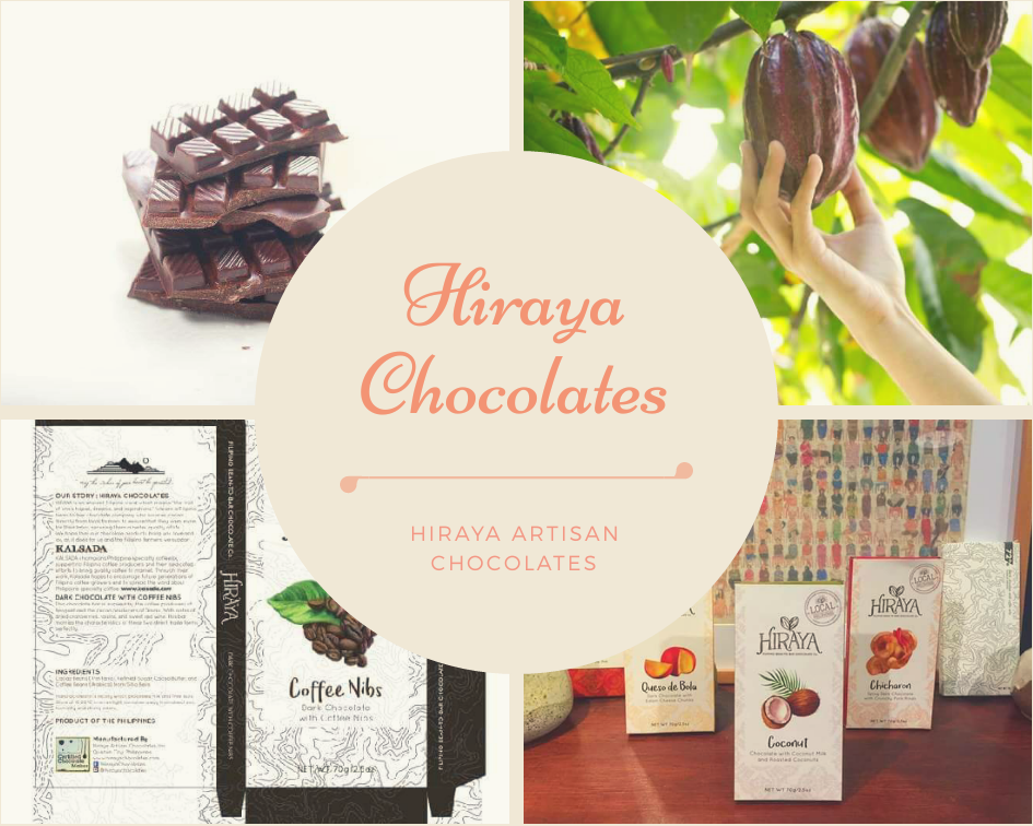 Sweeten your life with Hiraya Chocolates