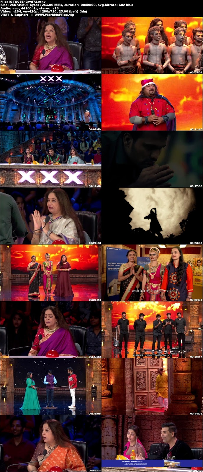 India's Got Talent S08 Episode 13 720p WEBRip 250mb x264 world4ufree.vip tv show India's Got Talent  Season 8 Star Plus tv show HD 720p free download or watch online at world4ufree.vip
