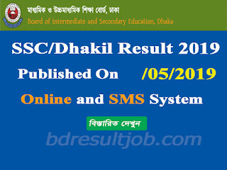 SSC/Dakhil Examination Result 2019