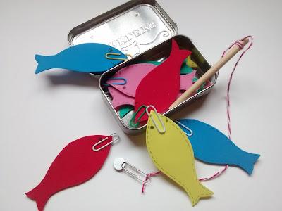 Juego de peces DIY