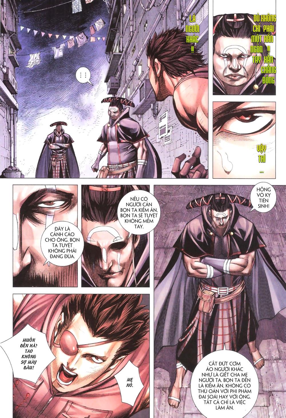 Đại Quân Phiệt chap 9 trang 17