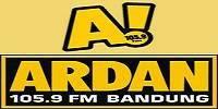 Streaming radio Ardan FM 105.9 Bandung