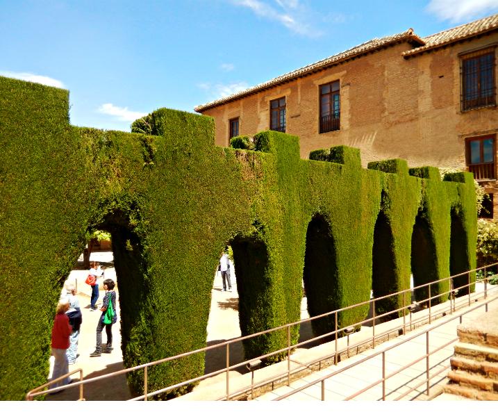 Gardens in Alhambra