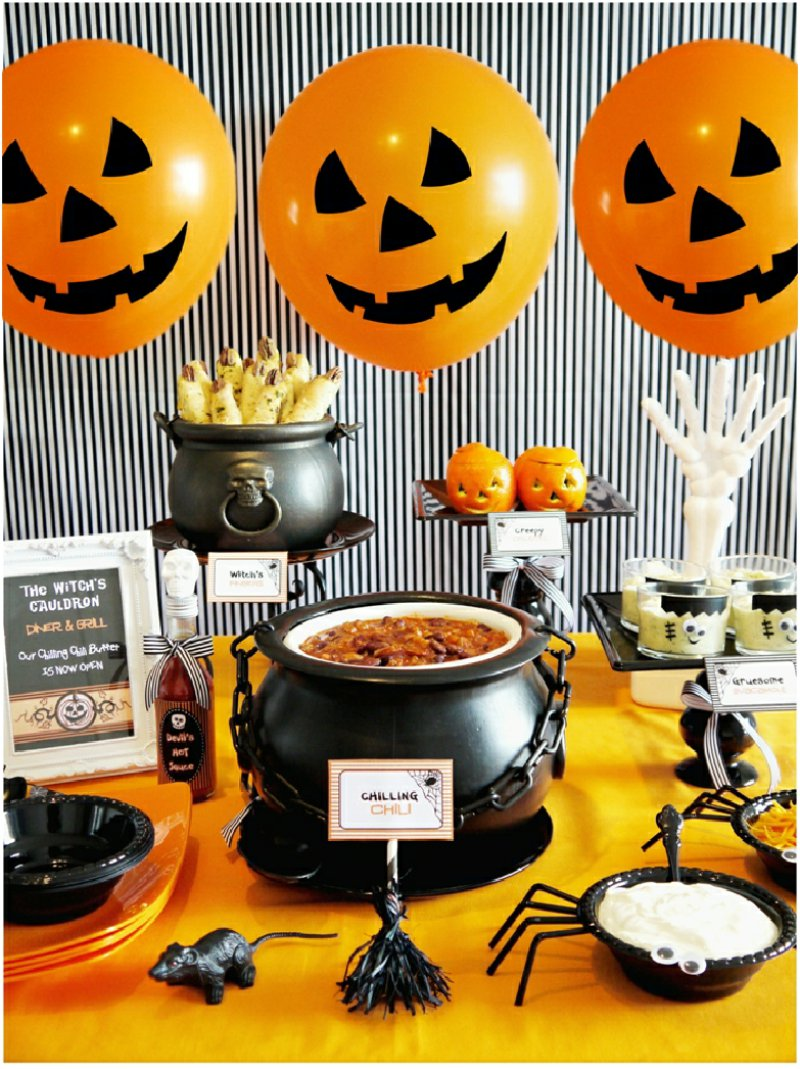 Spooky Halloween Kids Party Ideas