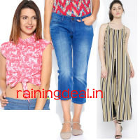 Tokyo Talkies Women Clothing Flat 60% OFF at Myntra rainingdeal.in