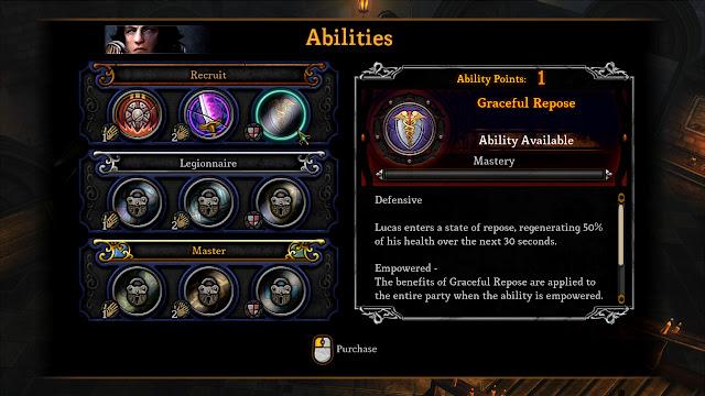 Dungeon Siege III abilities screenshot