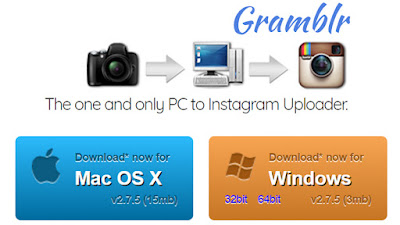 cara upload foto-video instagram dari laptop