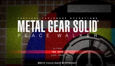 【PSP】潛龍諜影:和平先驅!