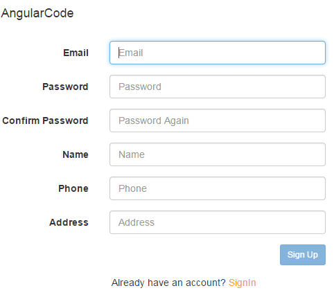 Login Register System Dengan Angular JS PHP Slim MySQL