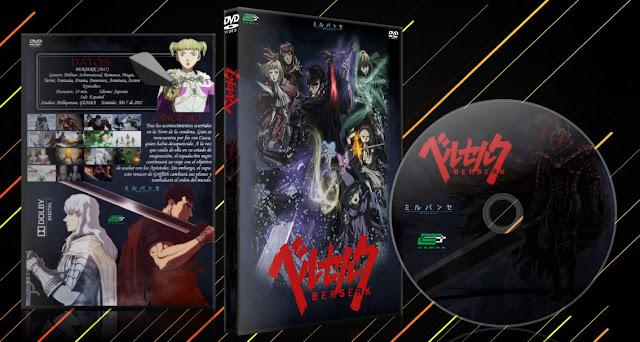 BERSERK (2017) | Cover DVD | MEGA |