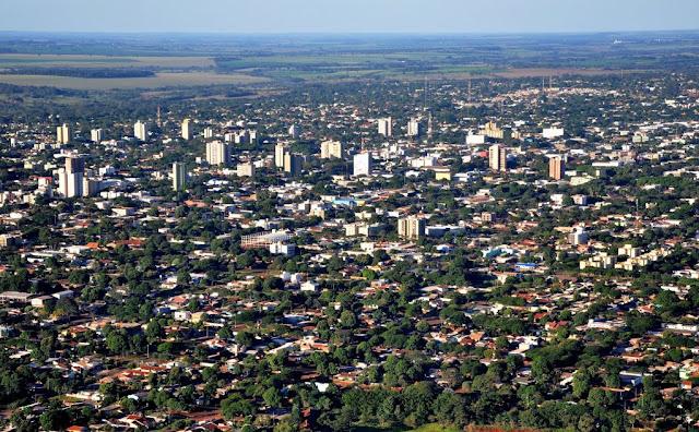 Dourados é a nona maior cidade do Centro-Oeste