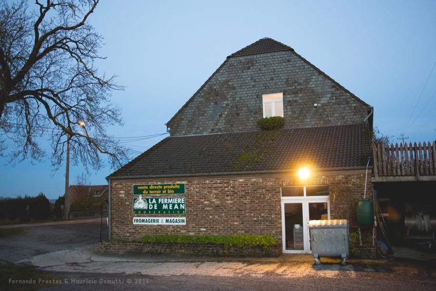 casa de laticínios na Bélgica