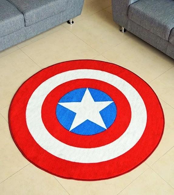 Dc Amp Marvel Comic Superhero Rugs Amp Bedroom Ideas