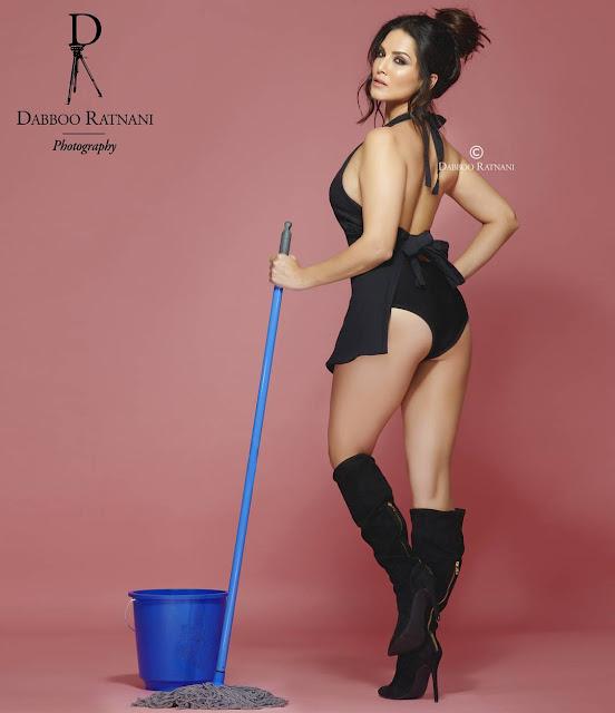 "Sunny Leone Photoshoot for Dabboo Ratnani  ""bad wifey"""