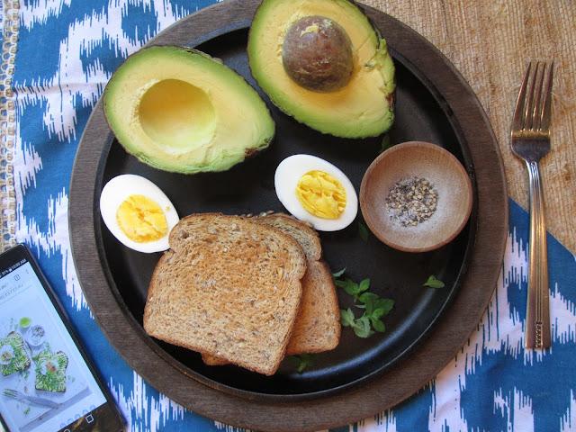 Stirring the Pot: Donna Hay's Smashed Avocado Toast w/ Hard Boiled Egg