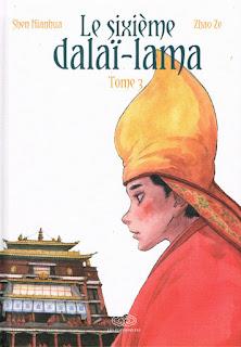 Le sixième Dalaï-Lama - tome 3 aux éditions Fei