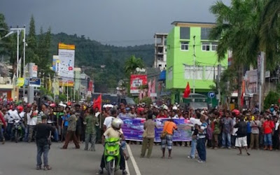 Dozens arrested in Papua ahead of fresh demos