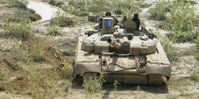 Image Attribute: File photo of T-84 Oplot-M being tested in Pakistan (2016)