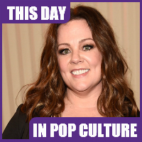 Actress Melissa McCarthy was born on August 26, 1970.