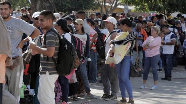 EEUU dispuesto a proporcionar ayuda a Colombia y Brasil para inmigrantes venezolanos