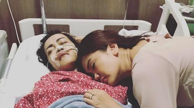 Julia Perez Dikabarkan Kritis, Keluarga Berbondong-bondong ke Rumah Sakit