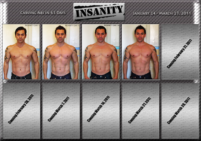 what is day 6 of insanity