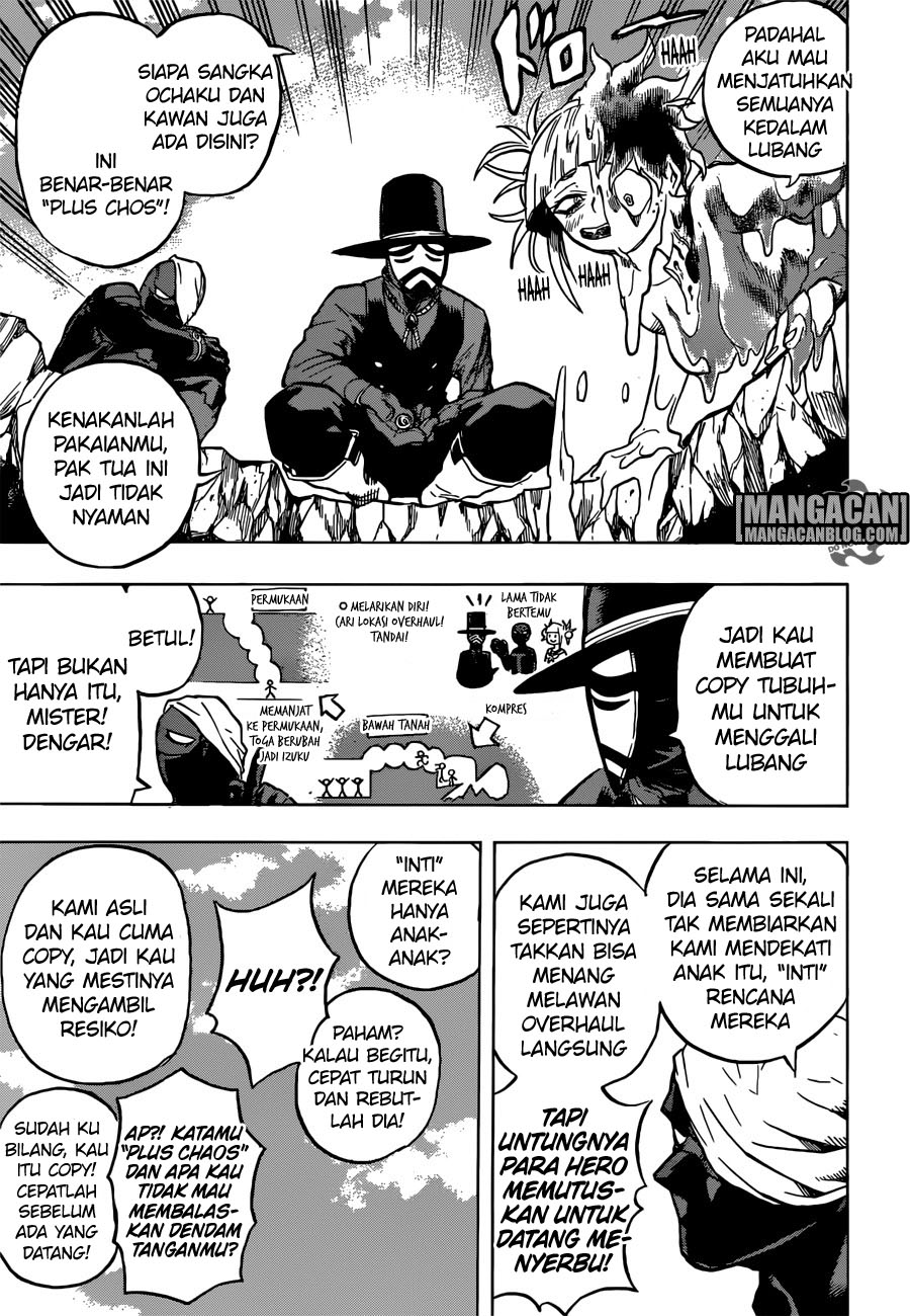 Boku no Hero Academia -indonesia